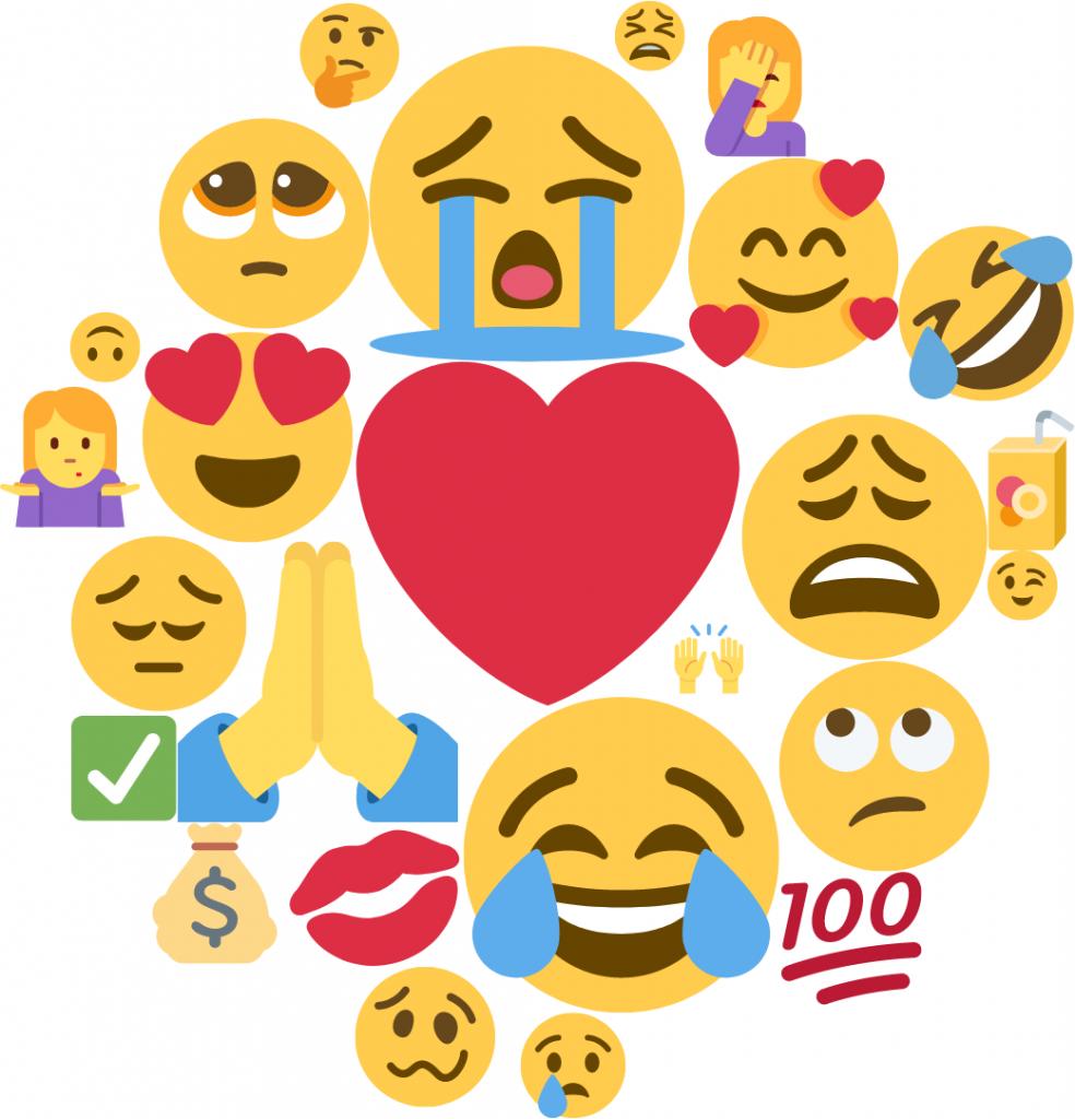 Top Emojis February